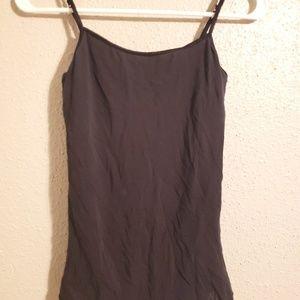 Aeropostale black Cami with shelf bra